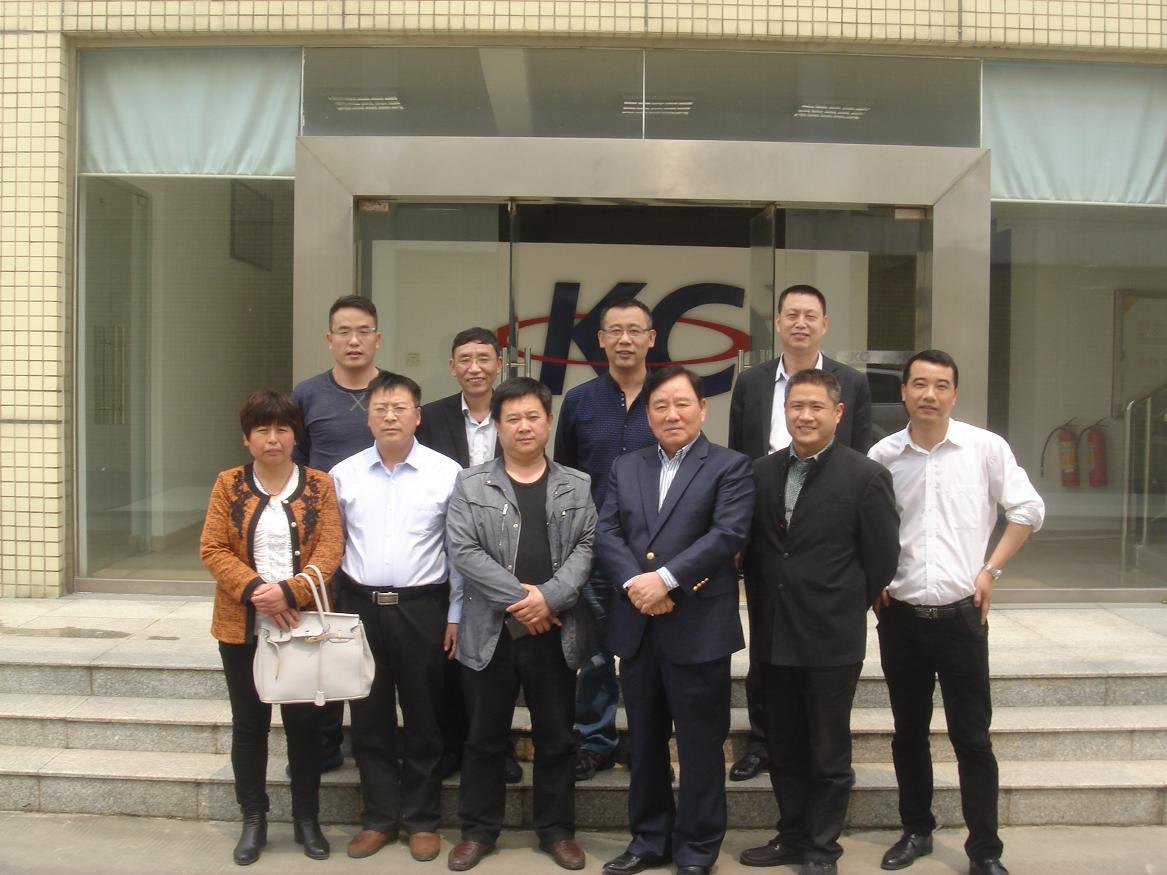 华东区行业领导与公司领导合影